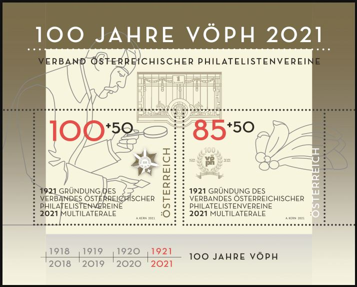 Österr. NEU: Bockausgabe 100 Jahre VÖPh 2_bloc10
