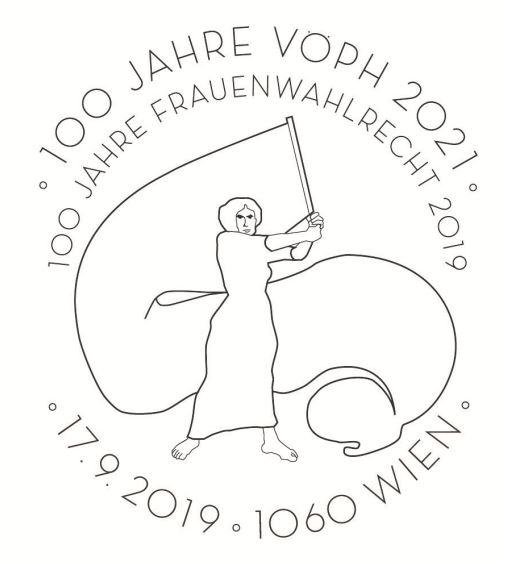 Österr. NEU: Block 100 Jahre Frauenwahlrecht in Österreich 2_frau11