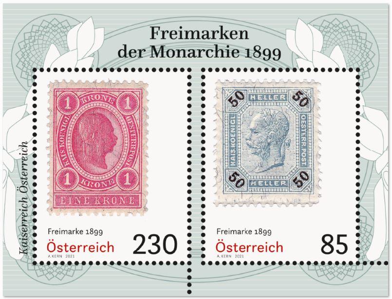 Österr. NEU: Block Freimarken 1899 2_frei12