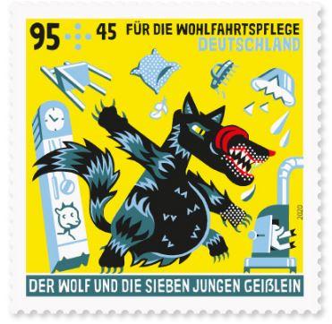 Deutschland - Neuausgaben 2020 Deutschland 2_wolf10