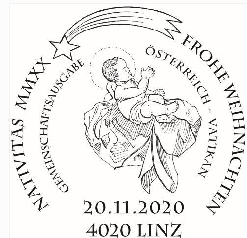 Österr. NEU: Friedenslicht aus Bethlehem - Gemeinschaftsausgabe mit Vatikanstadt 3_frie11