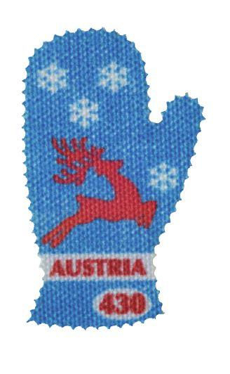 Österr. NEU: Textil-Marke Fäustling 3_fziu10
