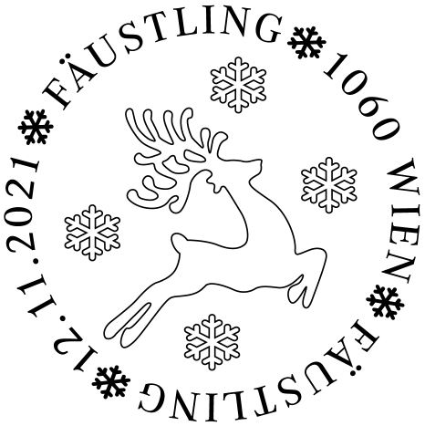 Österr. NEU: Textil-Marke Fäustling 3_fziu11