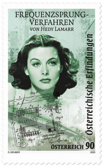 Sondermarke Hedy Lamarr  3_lama10