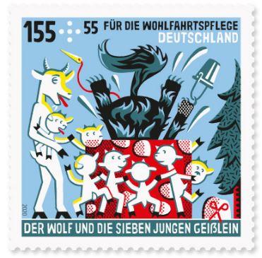 Deutschland - Neuausgaben 2020 Deutschland 3_wolf10