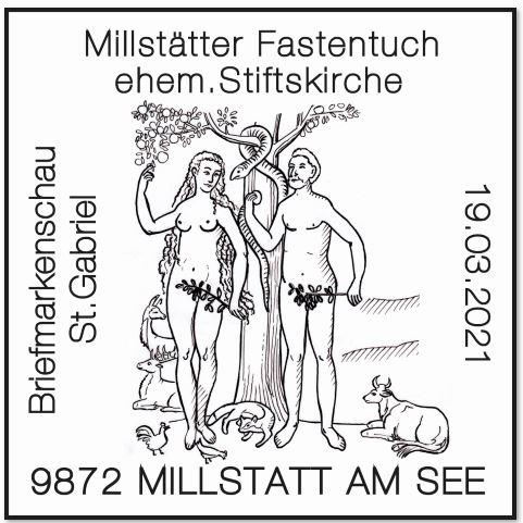 Österr. NEU: Millstätter Fastentuch 4_fast11