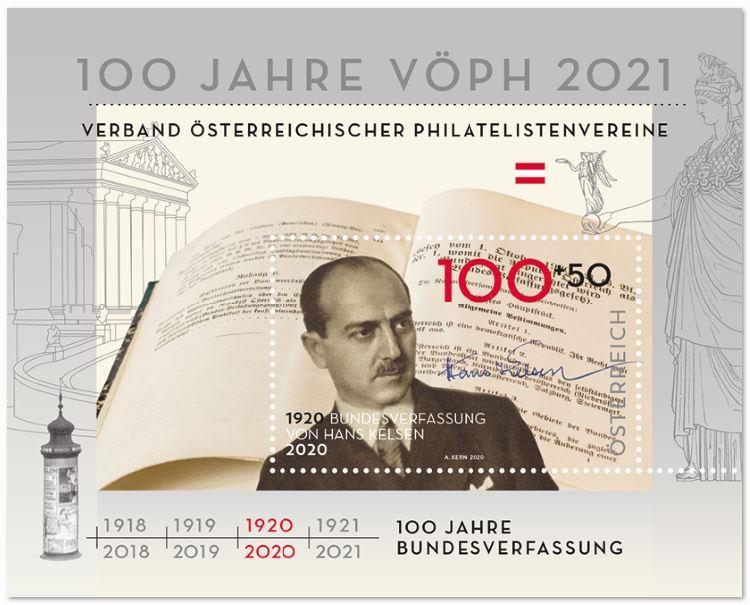 Österr. NEU: Jahre Bundesverfassung von Hans Kelsen 4_kels10