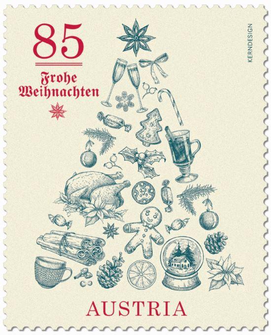 Österr. NEU: Weihnachten - Weihnachtsbaum 5_baum10