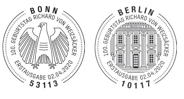 Deutschland - Neuausgaben 2020 Deutschland 5_weiz11