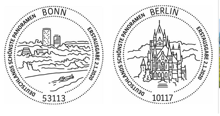 Deutschland - Neuausgaben 2020 Deutschland 6_bonn11