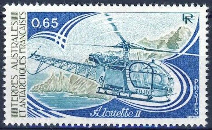 ● Briefmarken-Kalender 2021 - Seite 3 Alouet10