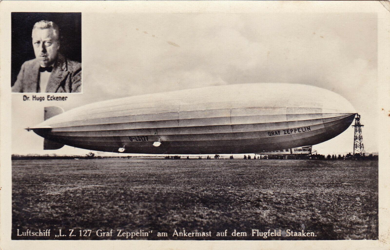 Ansichtskarten der Luftschiffe Ankerm10