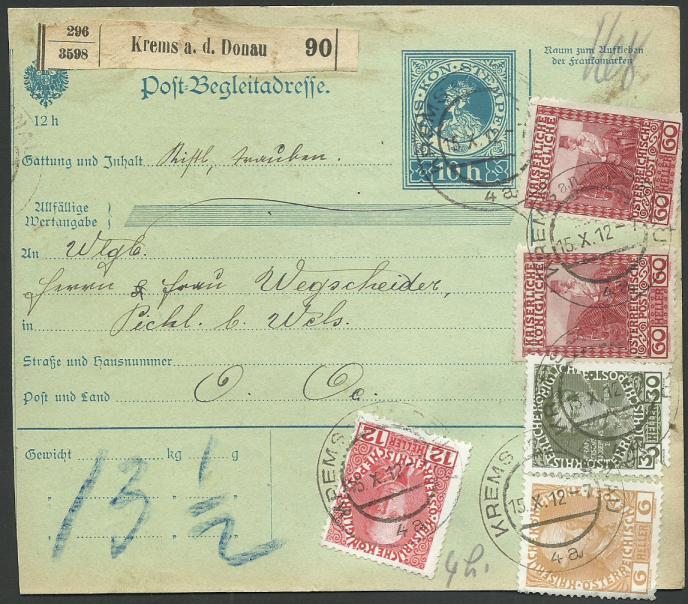 Die Freimarkenausgabe 1908 - Seite 3 Beglei10