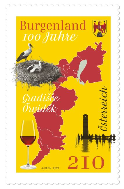 Österr. NEU: 100 Jahre Burgenland Bgld10