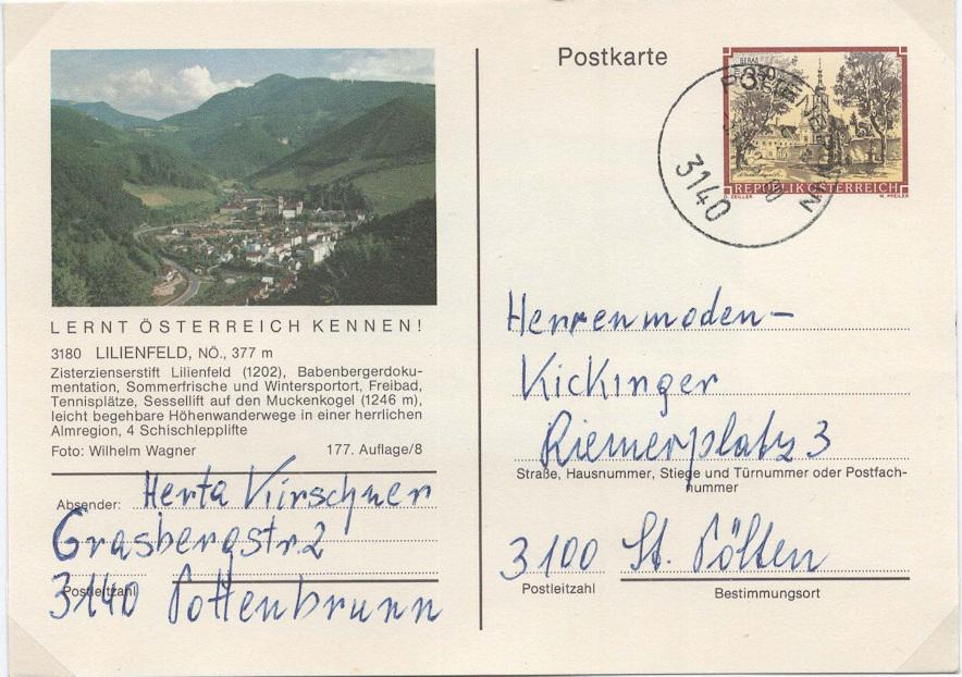 Bildpostkarten Österreich - Mi. P 473 Bildpo10