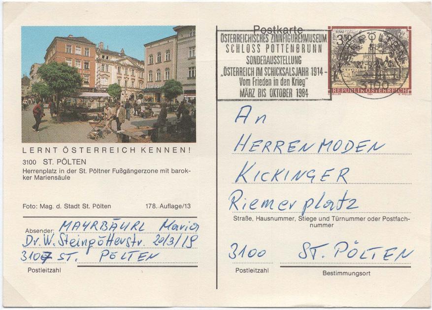 Bildpostkarten Österreich - Mi. P 473 Bildpo11