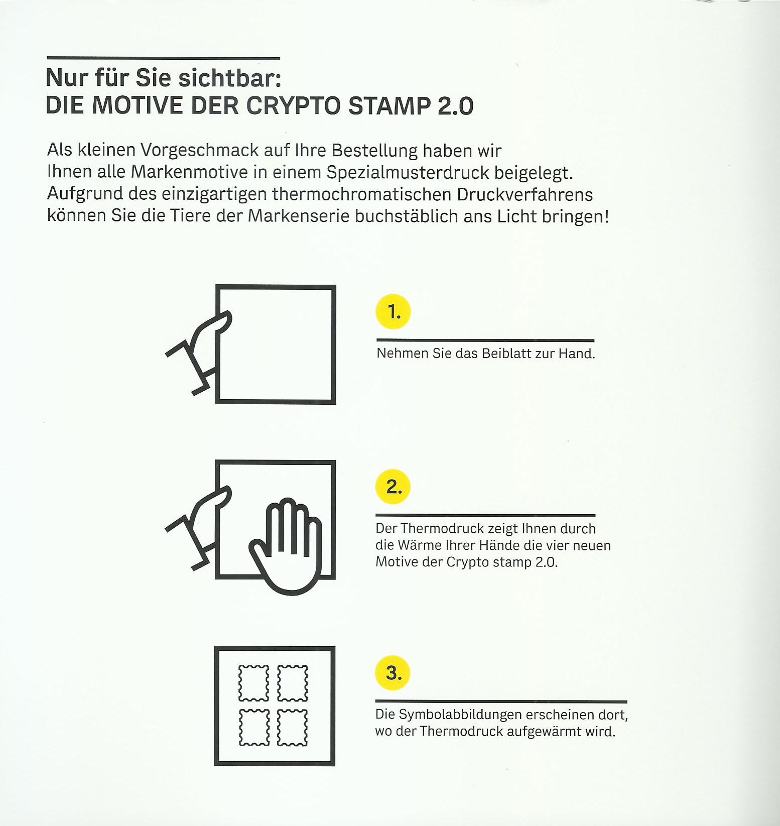 NEU: Crypto Stamp 2.0 Crypto17