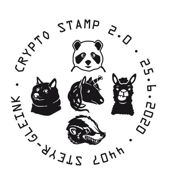 Österr. NEU: Crypto stamp 2.0 Crypto18
