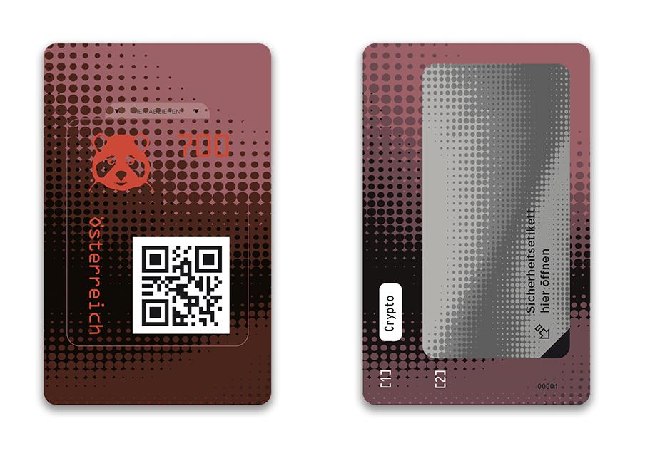 Österr. NEU: Crypto stamp 2.0 Crypto22