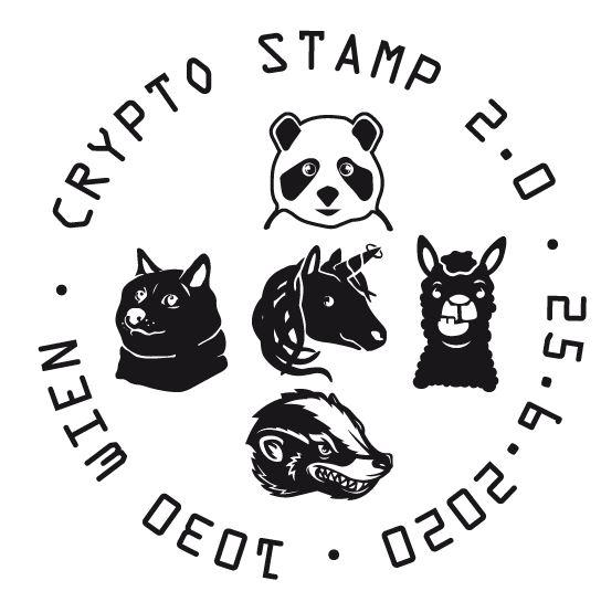 Österr. NEU: Crypto stamp 2.0 Crypto23