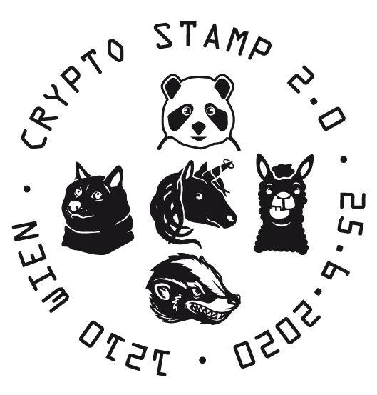 Österr. NEU: Crypto stamp 2.0 Crypto24