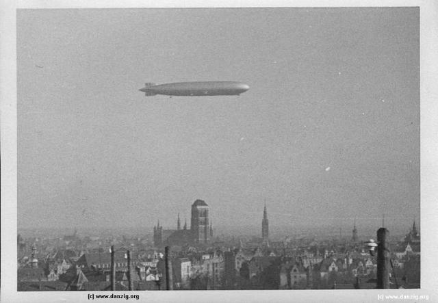 Ansichtskarten der Luftschiffe Danzig10