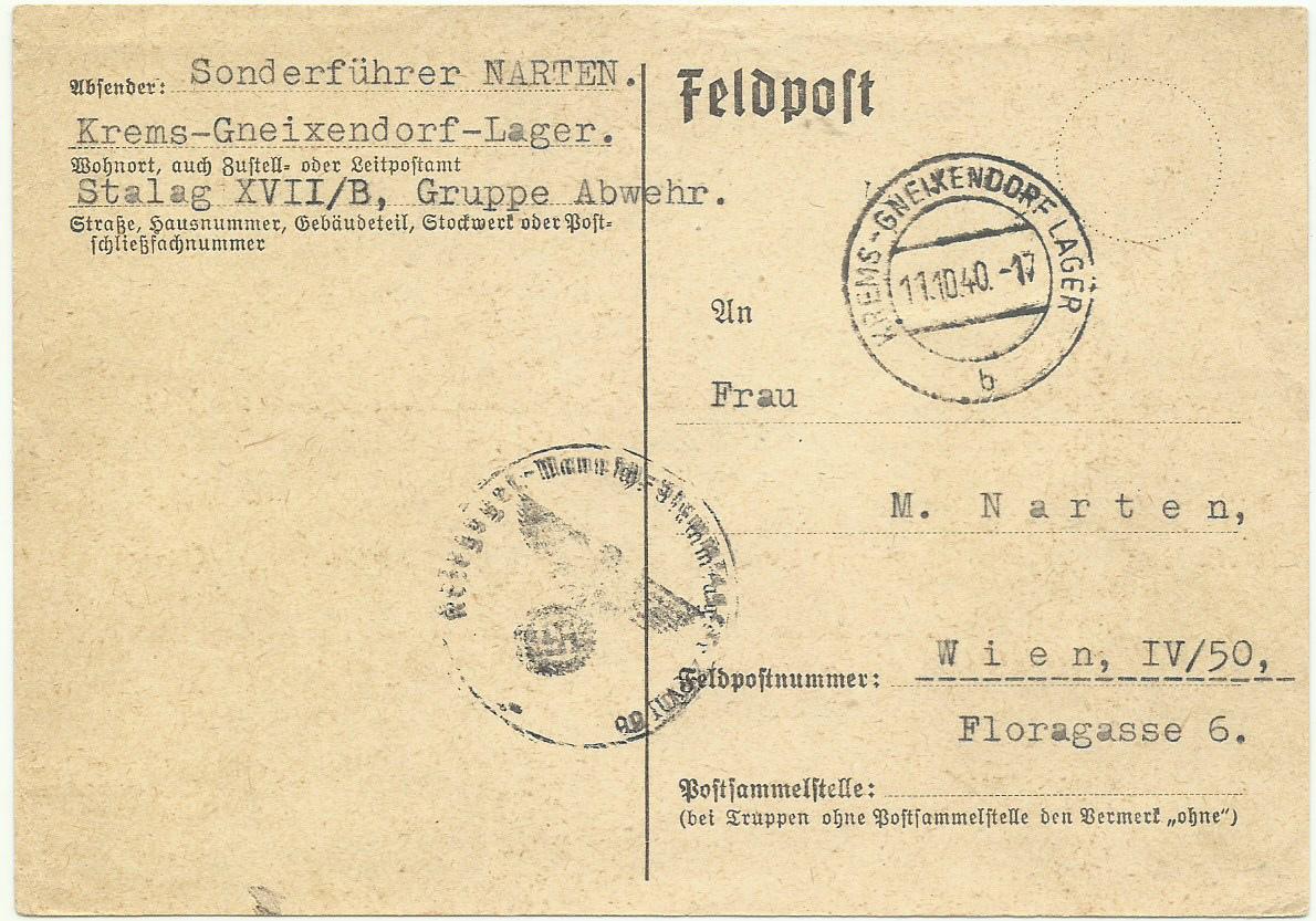 Österreich im III. Reich (Ostmark) Belege - Seite 23 Feldpo12