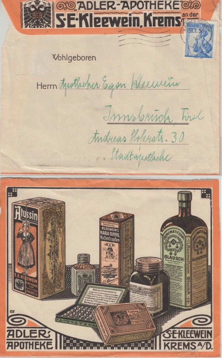 Werbeumschläge und -karten aus Österreich - Seite 7 Firmen10