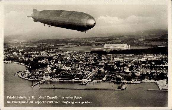 Ansichtskarten der Luftschiffe Friedr10