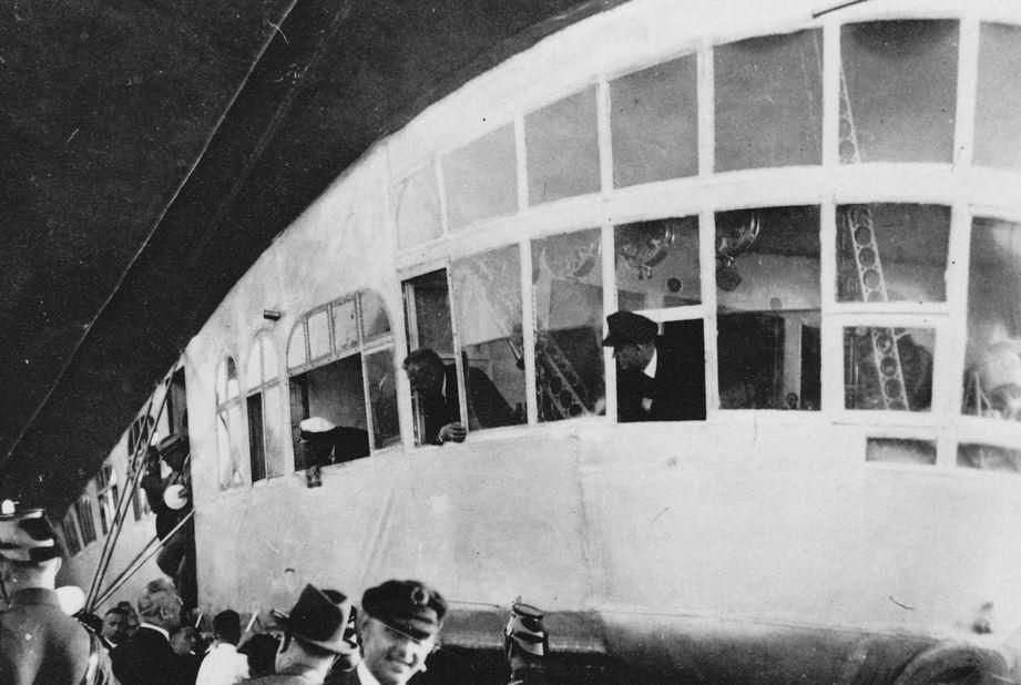 Ansichtskarten der Luftschiffe Gondel10