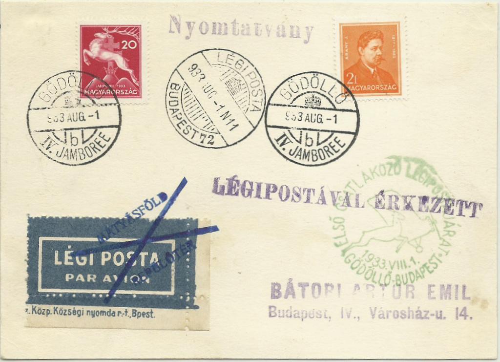 Pfadfinder Weltjamboree 1933 Gzdzll11
