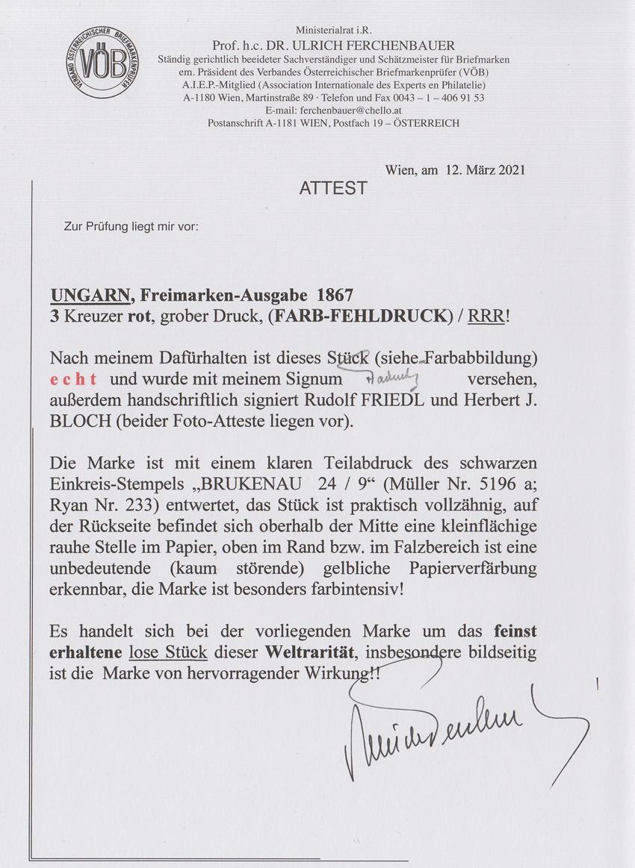 1867 Farbfehldruck für 135.000 € versteigert Heute_11