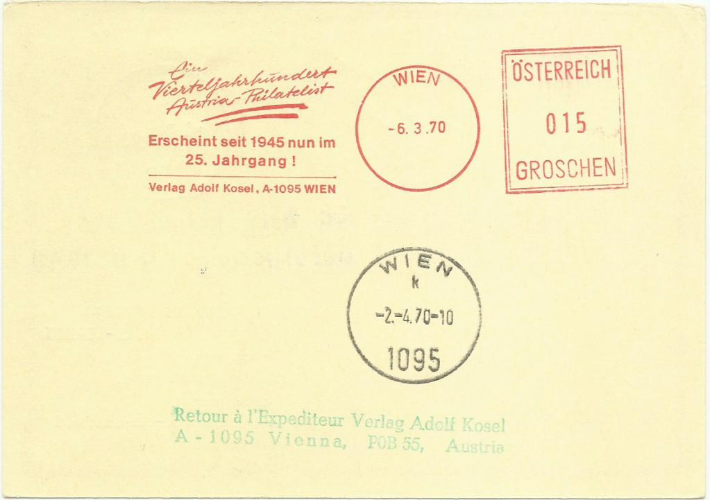 Bildpostkarten 2. Republik - Besonderheiten Interf11