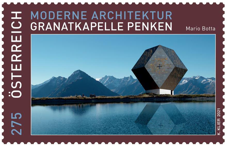 Österr. NEU: Moderne Architektur in Österreich, Granatkapelle Penken Kapell10