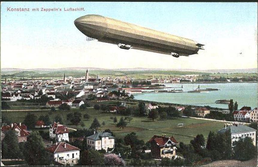 Ansichtskarten der Luftschiffe Konsta10