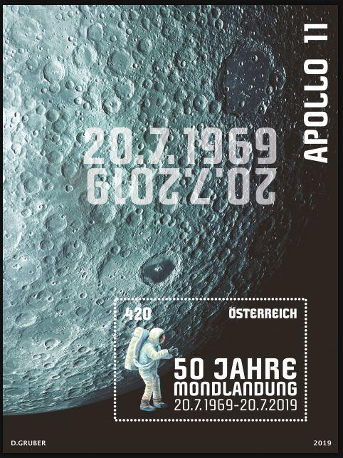 Blockausgabe 50 Jahre Mondlandung Mond_m10