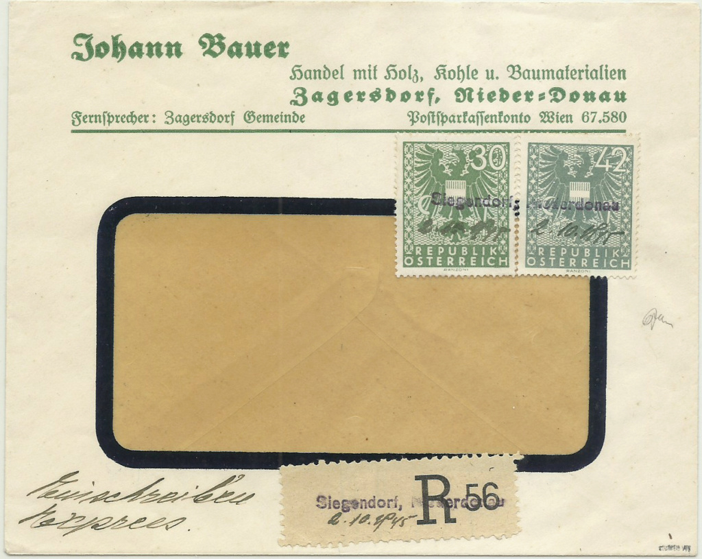 Notstempel Österreichs 1945 - 1946 Notste10