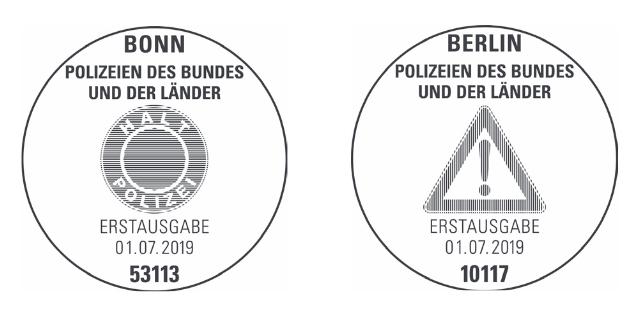 Neuausgaben 2019 Deutschland - Seite 2 Polize11