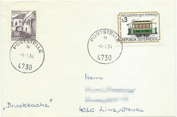 Ersatzstempel Postst10