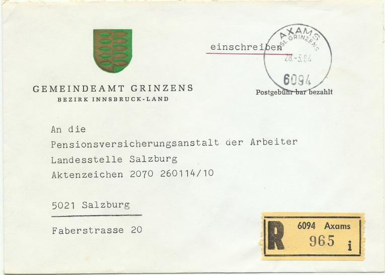 Posthilfsstellen-Stempel Pst_gr10
