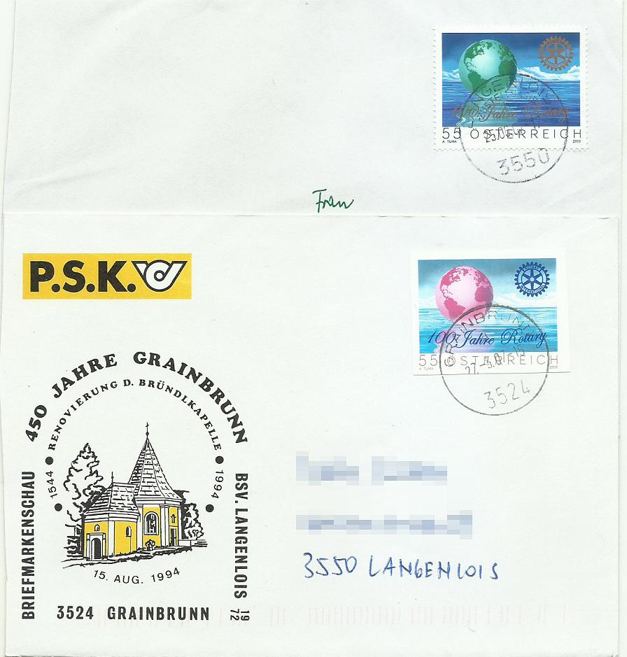 Österreich - Specimen, Schwarzdrucke, Buntdrucke - Seite 2 Rotary10