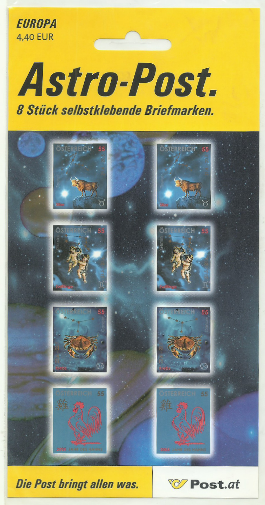 Freimarken Tierkreiszeichen / Chinesisches Neujahr Set_110