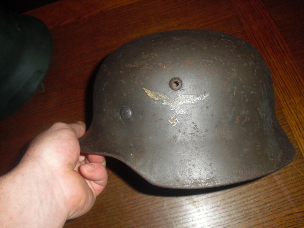 deux casque allemand MOD 35 Cimg9643