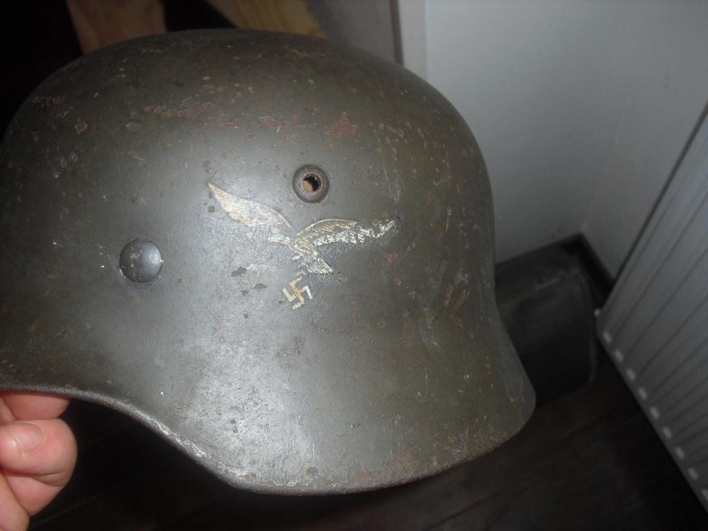 deux casque allemand MOD 35 Cimg9720