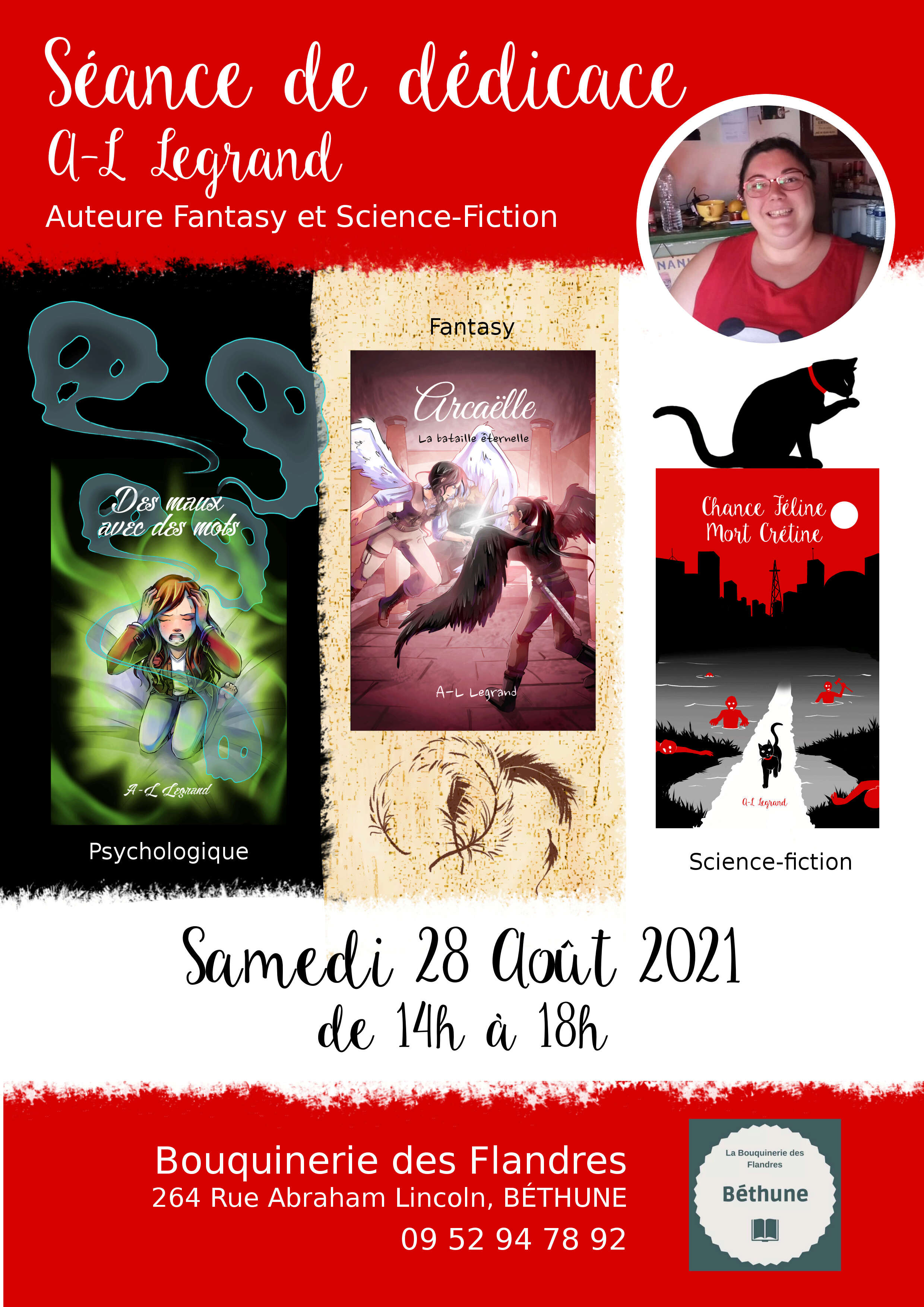 Facebook A.L Legrand - Arcaëlle et autres [Page Facebook Auteur] - Page 3 Affich10