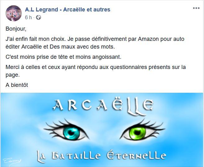 Facebook A.L Legrand - Arcaëlle et autres [Page Facebook Auteur] - Page 2 Captur16