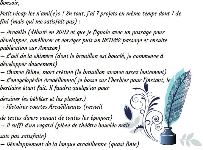 """Page FB """"Arcaëlle et autres - A.L Legrand"""" Rec10"""
