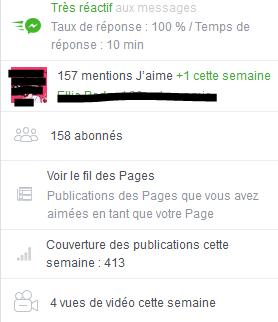 """Page FB """"Arcaëlle et autres - A.L Legrand"""" Stat10"""