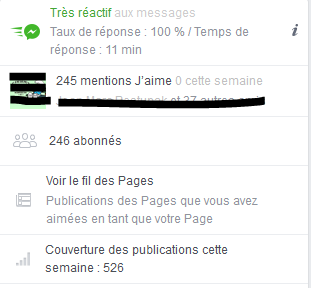 """Page FB """"Arcaëlle et autres - A.L Legrand"""" Stat16"""