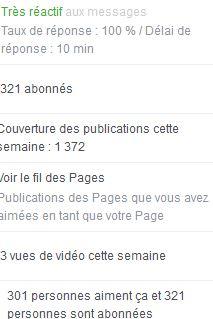 Facebook A.L Legrand - Arcaëlle et autres [Page Facebook Auteur] Stat17